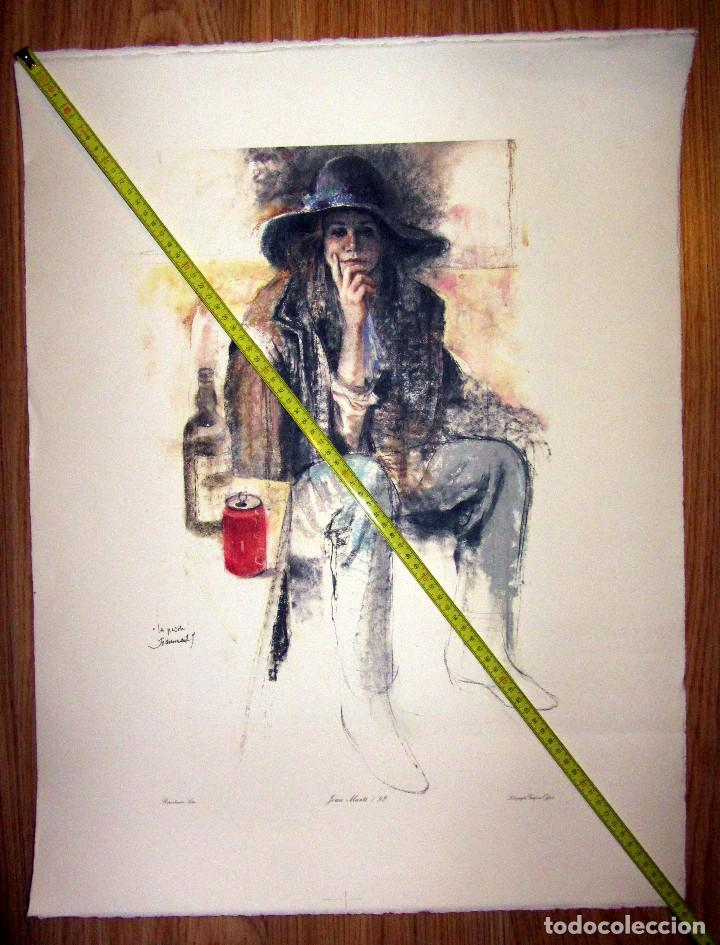 LA PASOTA JOAN MARTI 92 LITOGRAFIA GRAFICAS OFFSET REPRODUCCION SATOR (Arte - Arte Religioso - Litografías)