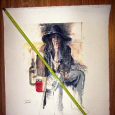 Arte: LA PASOTA JOAN MARTI 92 LITOGRAFIA GRAFICAS OFFSET REPRODUCCION SATOR. Lote 129749835