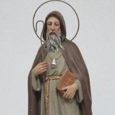 Arte: PRECIOSO SAN ANTON DE OLOT. OJOS DE CRISTAL. Lote 129979547