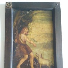 Arte: OLEO SOBRE COBRE DE SAN JUANITO, S. XVIII.. Lote 133662447