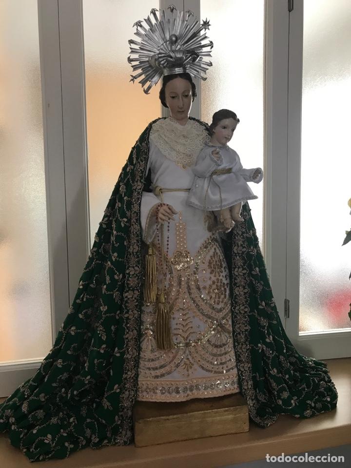 Arte: Virgen de gloria Cap i pota, virgen de madera, talla en madera - Foto 14 - 68569485