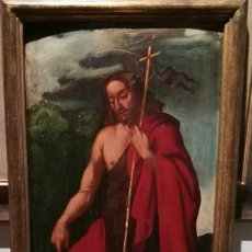 Arte: SAN JUAN BAUTISTA ATRIBUIDO A FRANCISCO RIBALTA (1565-1628). Lote 130169195