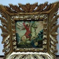 Arte: SANTIAGO MATAMOROS, OLEO SOBRE LIENZO S.XVII, ENMARCADO.. Lote 130225130