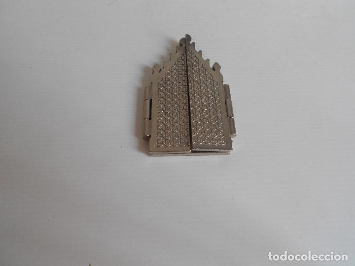Arte: triptico metal virgen de las angustias granada - Foto 4 - 130318210