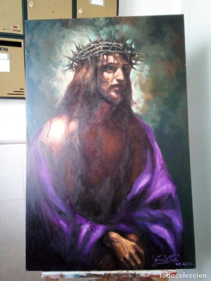 ECCE HOMO I. 100X65. JOLOGA. ELIGE MARCO A TU GUSTO. (Arte - Arte Religioso - Pintura Religiosa - Oleo)