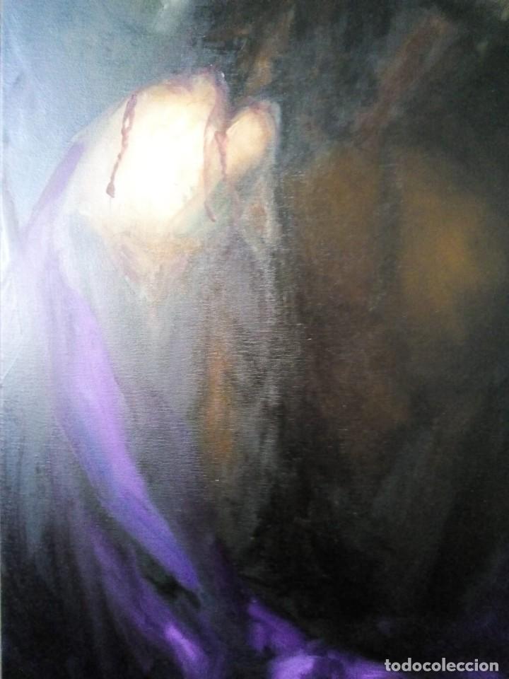 Arte: ECCE HOMO I. 100X65. JOLOGA. ELIGE MARCO A TU GUSTO. - Foto 5 - 130455362