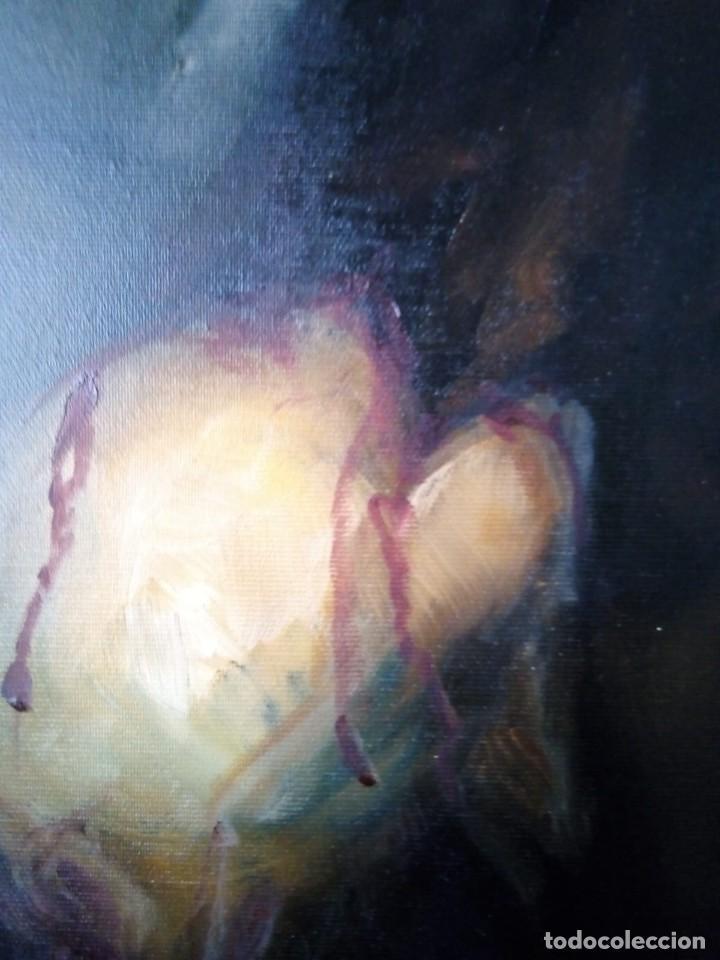 Arte: ECCE HOMO I. 100X65. JOLOGA. ELIGE MARCO A TU GUSTO. - Foto 9 - 130455362