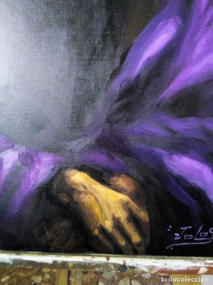 Arte: ECCE HOMO I. 100X65. JOLOGA. ELIGE MARCO A TU GUSTO. - Foto 11 - 130455362