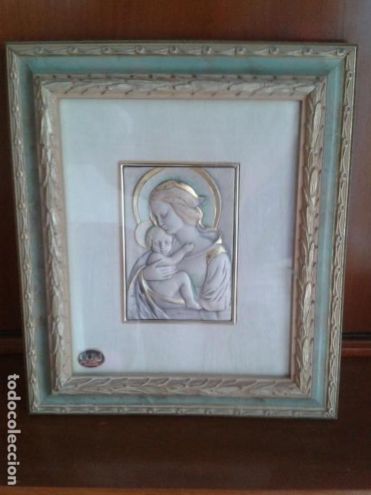 CUADRO CON VIRGEN (Arte - Arte Religioso - Pintura Religiosa - Otros)