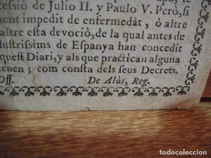 Arte: alabanca perpetua a la inmaculada por los pares de los convents caputxins. - Foto 4 - 130722164