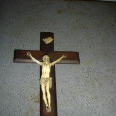 Arte: CRISTO EN MARFIL SIGLO XVIII ES PRECIOSO VER FOTOS. Lote 214959975