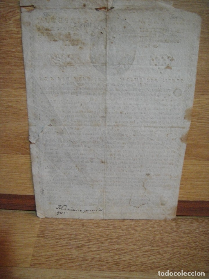 Arte: alabanca perpetua a la inmaculada por los pares de los convents caputxins. - Foto 5 - 130722164