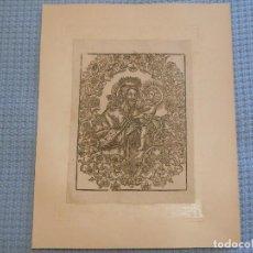 Arte: SIGLO XIX SAN JOSÉ - GRABADO XILOGRÁFICO RELIGIÓN. Lote 130777772