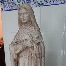 Arte: SANTA TERESITA DEL NIÑO JESUS REALIZADO POR F.J MORENO DAZA. Lote 130828540