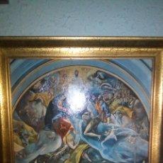 Arte: ANTIGUO LIENZO RELIGIOSO. Lote 130911049