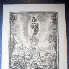 Arte: NUESTRA SEÑORA DE LA FUENTE DE LA SALUD. IGNACIO VALLS GRABADOR.. Lote 130913620