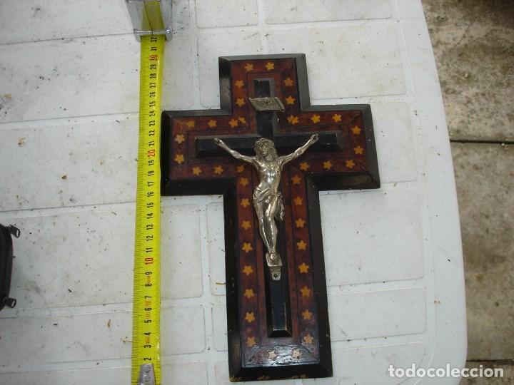 Arte: muy muy bonito crucifijoepoca Napoleon III de coleccion ver fotos - Foto 2 - 131024732
