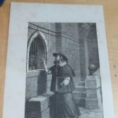 Arte: LÁMINA LITOGRAFÍA RELIGIOSA SAN GERMÁN. Lote 131355334