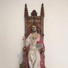 Arte: SAGRADO CORAZÓN DE JESÚS ANTIGUO - OLOT EL ARTE CRISTIANO . Lote 131519658