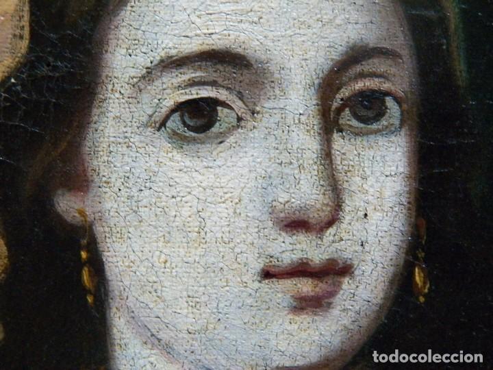 Arte: Pintura Santa Bárbara, Pintura XVIII, Óleo sobre Tela - Foto 14 - 131832946