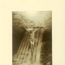 Arte: GRABADO STMO. CRISTO BUENA MUERTE HDAD DE LA HINIESTA SEVILLA. Lote 131989018