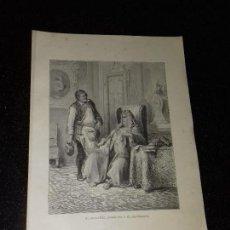 Arte: LITOGRAFIA. GRABADO DE GUSTAVO DORÉ. EL ZAPATERO REMENDON Y EL CAPITALISTA. 1885.. Lote 132046930