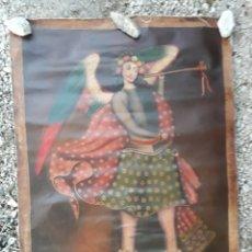 Arte: PINTURA RELIGIOSA ÁNGEL FIRMADO. Lote 132128322