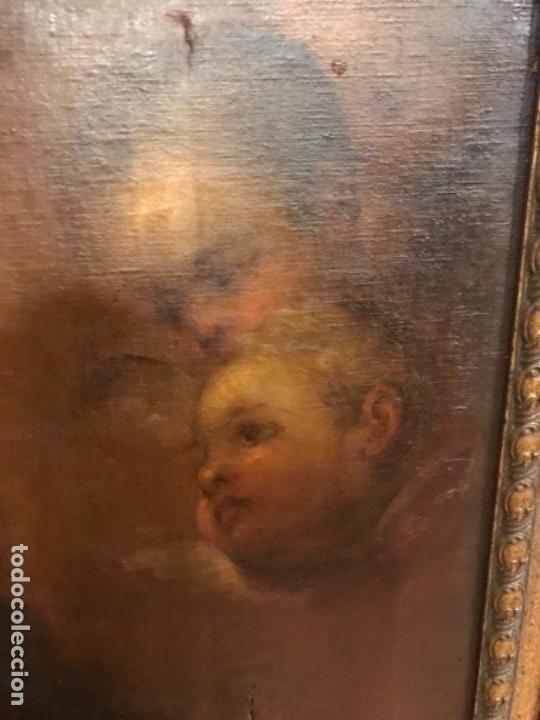 Arte: Copia de la inmaculada de Murillo firmado siglo xlx - Foto 5 - 132172202