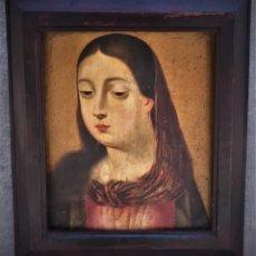 Arte: MAGNIFICA TABLA VIRGEN MARIA, ESTILO FLAMENCO. Lote 132419222