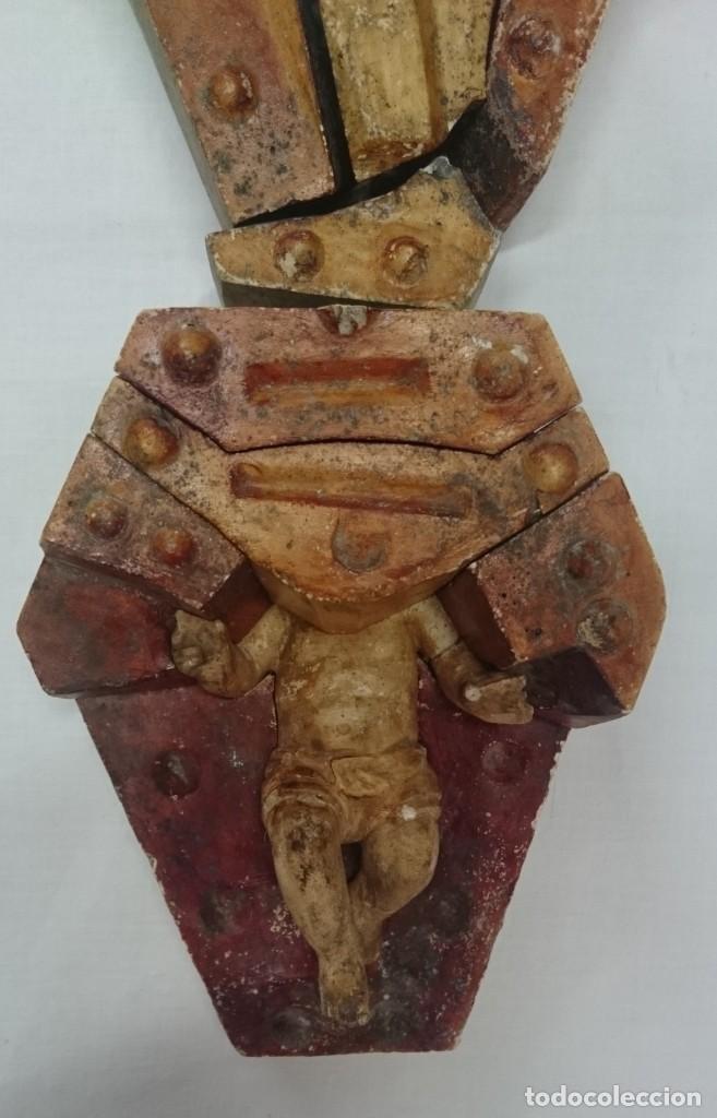 Arte: Antiguo molde de terracota para hacer un niño Jesús. Rareza. Siglo XIX. Ver fotos. Imaginería. - Foto 7 - 195289836