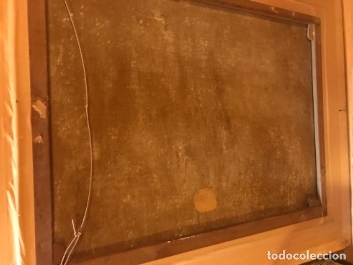 Arte: Copia de la inmaculada de Murillo firmado siglo xlx - Foto 9 - 132172202