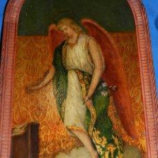 Arte: (M) PINTURA ANGEL SAN GABRIEL - OLEO SOBRE TABLA FINALES S.XIX SIN FIRMAR , ENMARCADO . Lote 132574158
