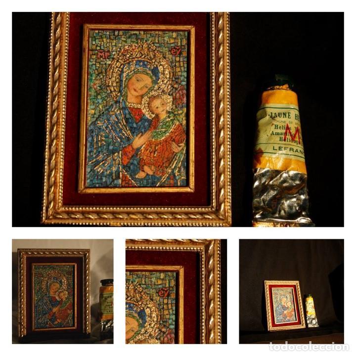 Arte: Virgen con el Niño. Miniatura - Foto 2 - 132630542
