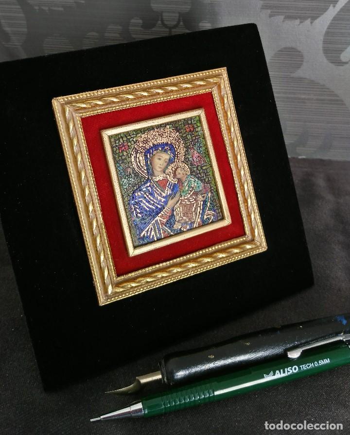 Arte: Virgen con el Niño. Miniatura - Foto 3 - 132630542