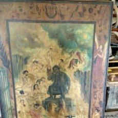 Arte: PINTURA RELIGIOSA PASSION SEGUN SN. MATEO. Lote 120217031