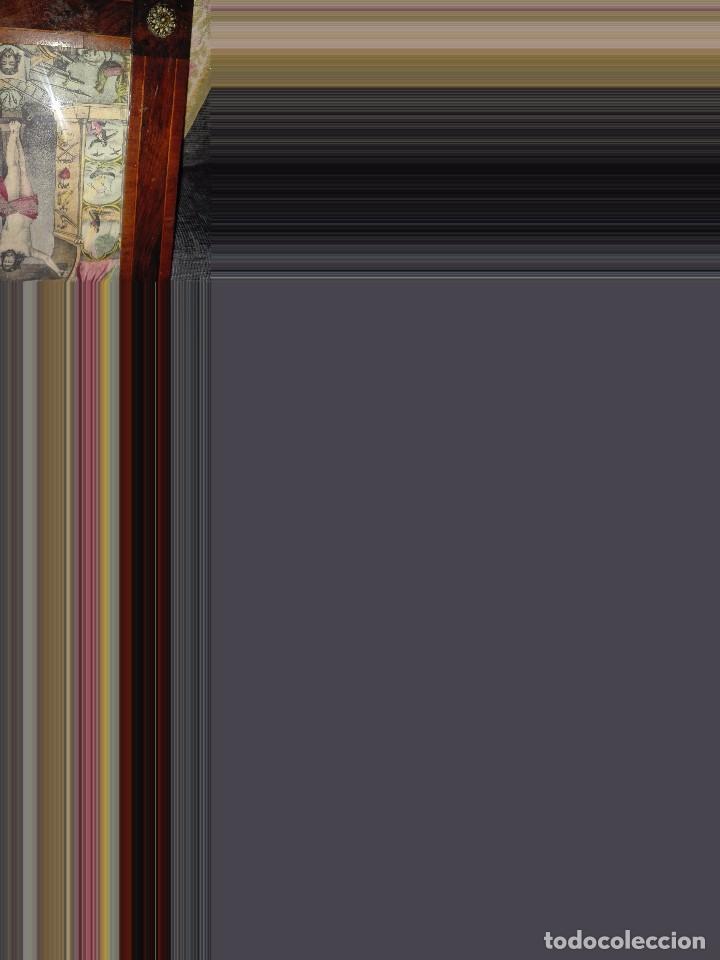 Arte: Lámina coloreada original siglo XIX. - Foto 4 - 132805430