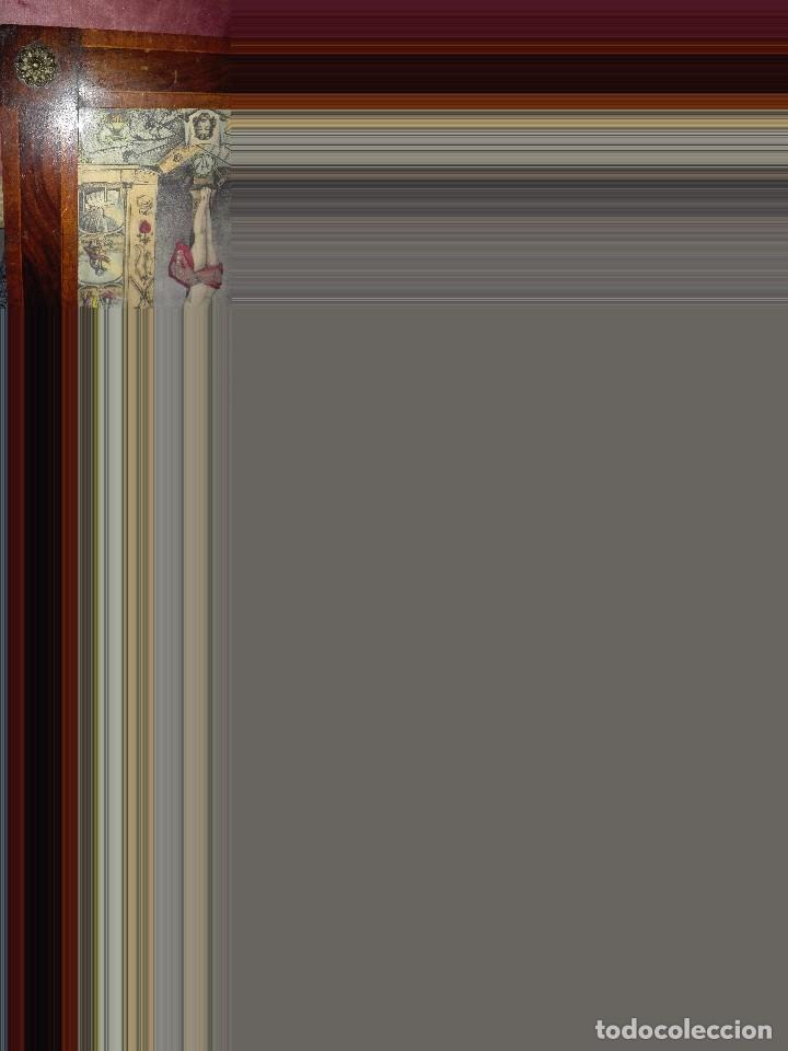 Arte: Lámina coloreada original siglo XIX. - Foto 5 - 132805430