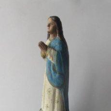 Arte: VIRGEN PURISIMA - TALLA DE MADERA ESTILO COLONIAL. Lote 132845782
