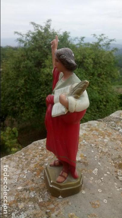 Arte: Antigua escultura de yeso de San Pancracio. Religiosa - Foto 3 - 132905966