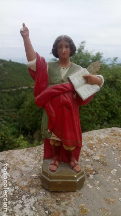 ANTIGUA ESCULTURA DE YESO DE SAN PANCRACIO. RELIGIOSA (Arte - Arte Religioso - Escultura)