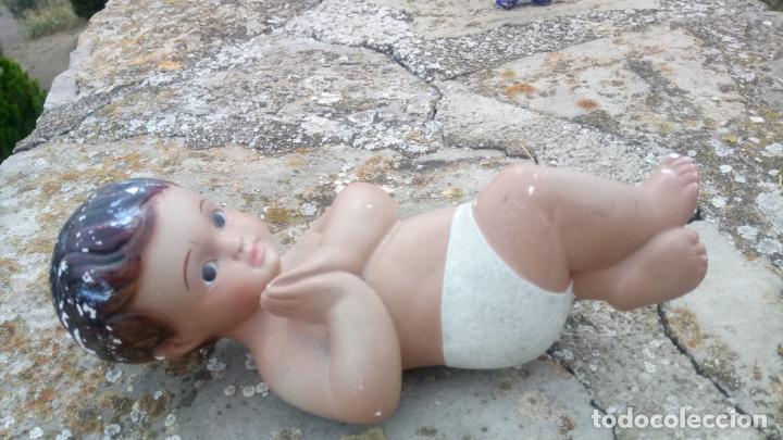 Arte: Antiguo niño Jesus de escayola o yeso - Foto 5 - 132906642