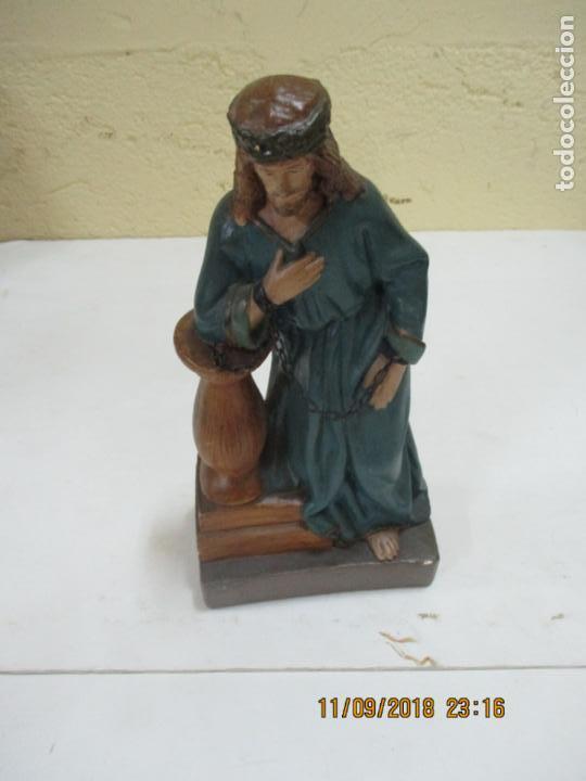CRISTO ATADO EN LA COLUMNA MEDIDAS 27 CM (Arte - Arte Religioso - Escultura)