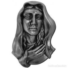 Arte: DOLOROSA BRONCE DE 24,5 CM. COLOR NEGRO. Lote 133455826