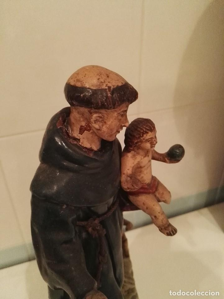 Arte: Figura San Antonio de Barro s.XVIII-XIX - Foto 2 - 133861594