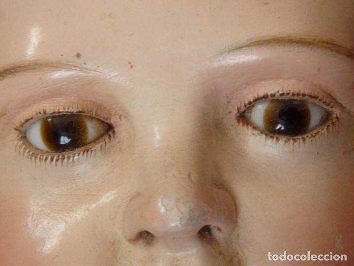 Arte: Niño Jesús. Escultura vestidera o cap i pota en madera policromada. 70 cm. Granada. S. XVIII. - Foto 20 - 134050710