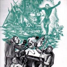 Arte: GOIGS A LLAOR DEL SANT CRIST DE LEPANT (1975) DÍPTIC. Lote 134061686