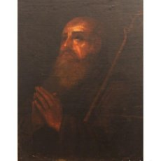 Arte: SAN ANTONIO ABAD. ESCUELA ANDALUZA DEL SIGLO XVII.. Lote 134160906