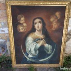 Arte: IMACULADA DE MURILLO COPIA. Lote 134197146