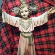 Arte: ANTIGUO NIÑO JESÚS DE PRAGA, DE OLOT, GRAN TAMAÑO . Lote 134360746