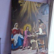 Arte: MUY ANTIGUO PRINCIPIOS 1900, BONITO Y ALEGRE CUADRO AL OLEO SOBRE LIENZO, FIRMADO Y BUEN ESTADO, GRA. Lote 134414474